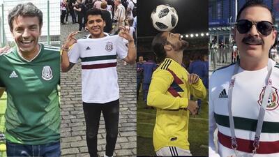 Los famosos que empacaron maletas y se fueron al Mundial