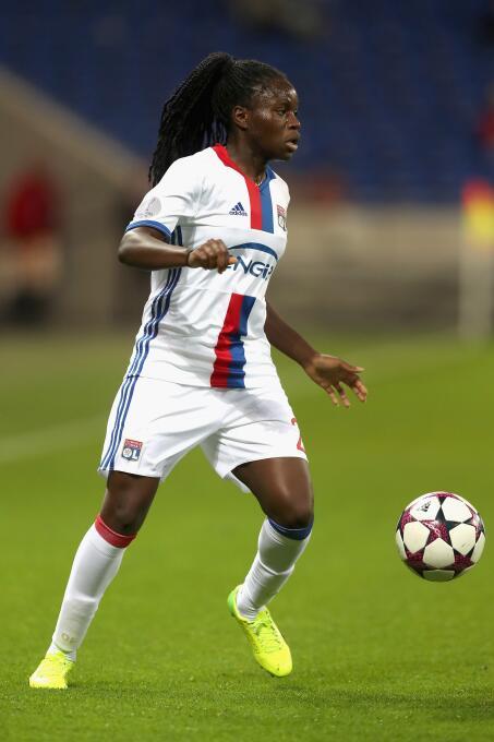 Otra jugadora de la selección de Francia en el Lyon es Griedge M'Boc...