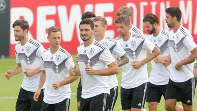 El entrenamiento de la Alemania que Juan Carlos Osorio va a 'espiar' para el Mundial