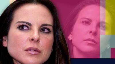 """""""¡Ay cab…!"""", el doloroso grito Kate del Castillo al recibir auxilio en su codo"""