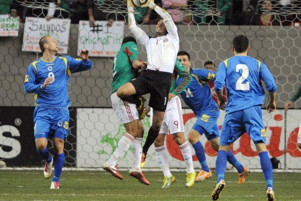 Los nervios no se hicieron presentes en el partido y el conjunto mexican...