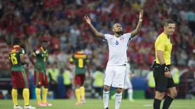 """Arturo Vidal sobre el juego ante Camerún: """"Era muy importante empezar con el pie derecho"""""""