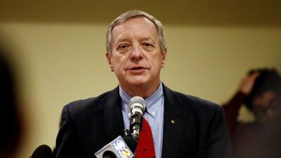El senador por Illinois Dick Durbin.