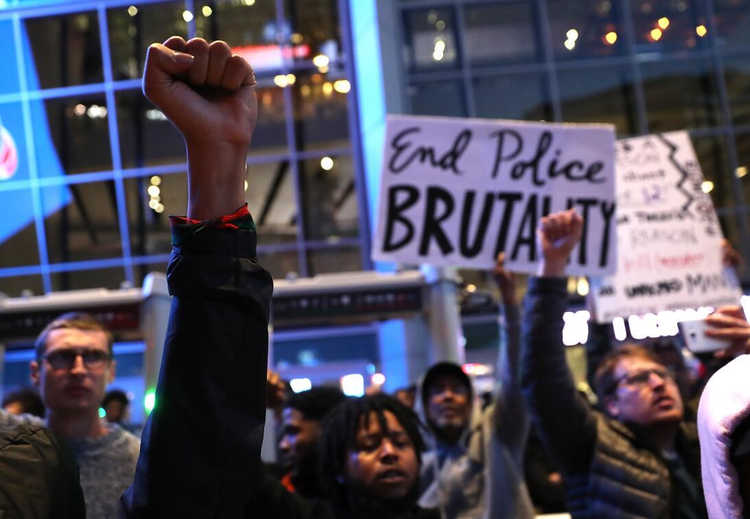 En fotos: 'Black Lives Matter' vuelve a las calles tras la muerte de Ste...