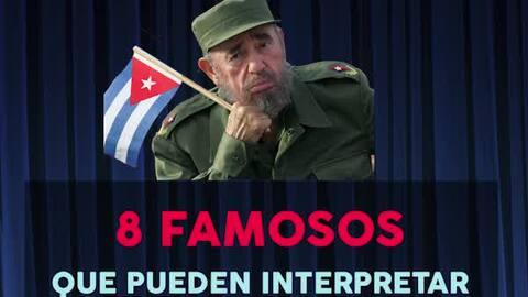 ¿Cuál artista debería hacer el papel de Castro en la gran pantalla?