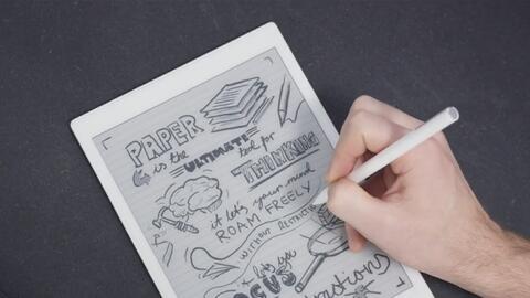 Ink Tablet, el dispositivo que eliminaría el uso de papel