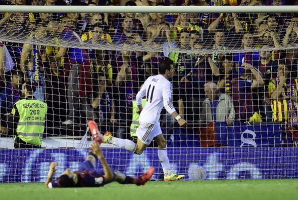 El gol de Bale volvió a poner diferencias en el marcador a favor del Rea...