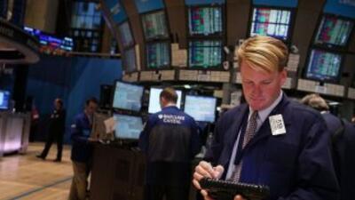 El Dow Jones alcanza su mejor nivel desde mayo de 2008.