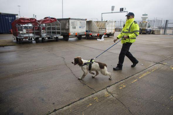 La fuerza fronteriza de Reino Unido es parte del 'Home Office'  el depar...