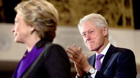 La tierna reacción de Bill al discurso de Hillary Clinton que te perdiste