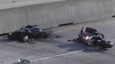 Varios motociclistas resultan heridos tras accidente en la Interestatal 30