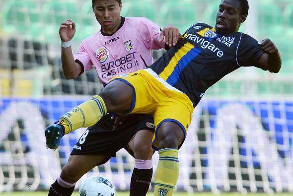 Palermo y Parma protagonizaron uno de los partidos más reñidos de la fecha.