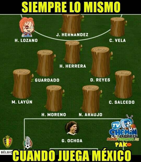 EN VIVO: México vs. Bélgica, partido amistoso 2017 23380074-150019577672...
