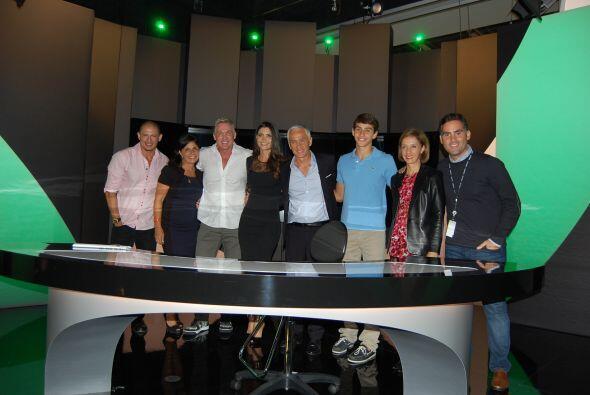 Aquí te mostramos parte del equipo que conforma el programa 'Am&e...