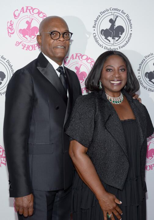 Samuel L. Jackson y LaTanya Richardson