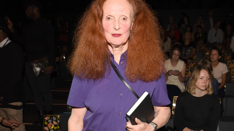 Grace Coddington fue el alma tras las producciones de Vogue.