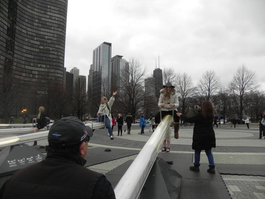 Renzo y Maria Esther visitaron la ciudad y suburbios de Chicago DSCN7443...