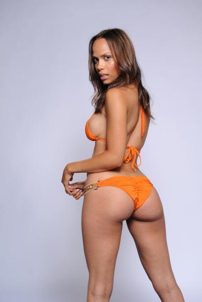 Jen Morillo es una joven dominicana, quien lleva el fuego en el cuerpo.