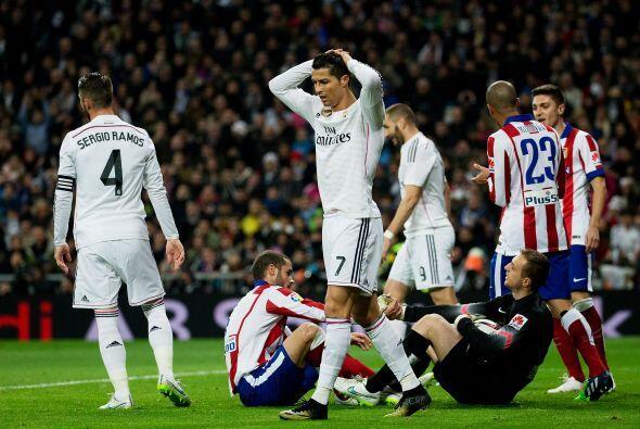 La frustración inundó a los jugadores del Madrid que así se despedían de...