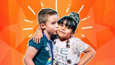 Nayleah y Mateo, la amistad que enamoró a todos en Pequeños Gigantes