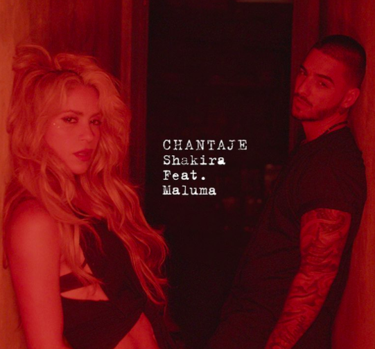 'Chantaje', tema de Shakira y Maluma tiene una nominación en esta...