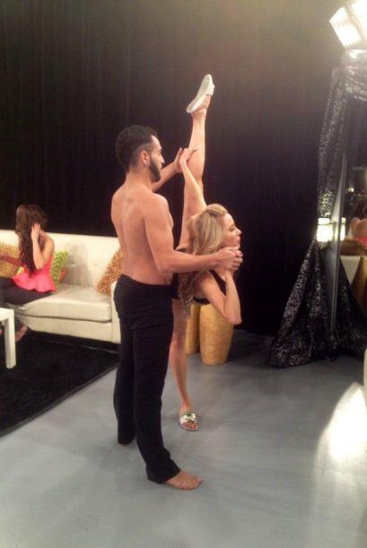 Creció bailando en Cuba y ha tenido la oportunidad de bailar con...