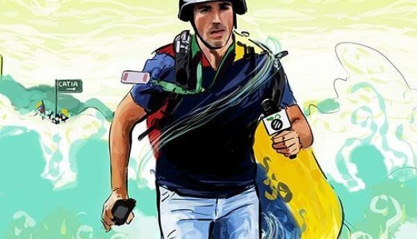 """""""Me gritaban sapo"""": Luis Olavarrieta, periodista herido durant..."""