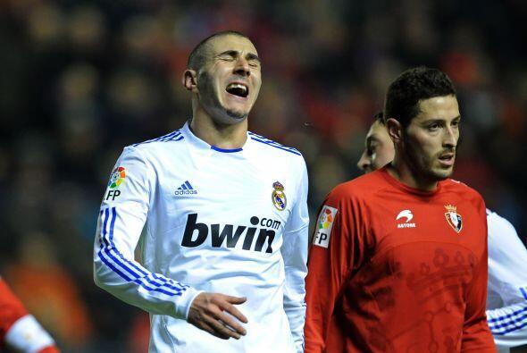 Karim Benzema era parte de las víctimas de la desesperación entre los ma...
