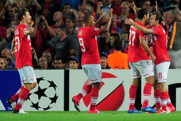 Eran 58 minutos jugados y Rómulo ponía el 2-1 en favor del Spartak, pese...