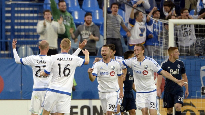 Impact celebra triunfo sobre Vancouver