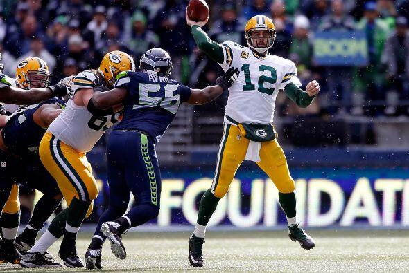 #1 Aaron Rodgers, Green Bay Packers.