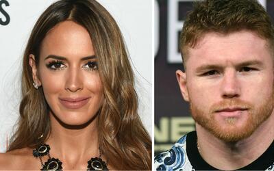 Shannon de Lima, exesposa de Marc Anthony, yel boxeador Saúl 'Canelo' Á...