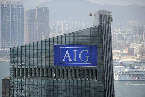 Gran parte de los $182 mil millones del rescate de AIG fueron para pagar...