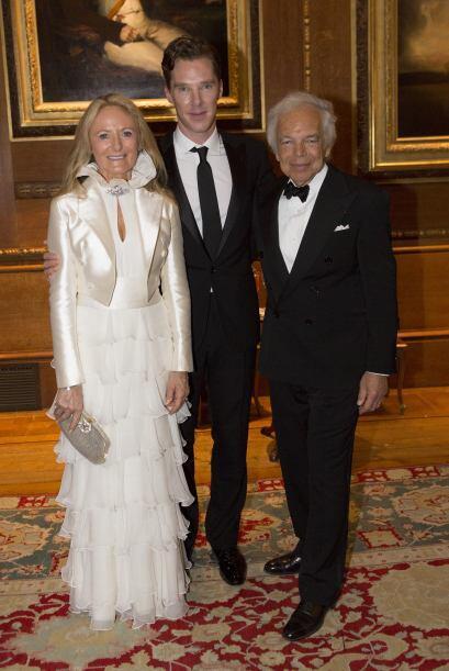 Benedict Cumberbatch con Ralph Lauren.Mira aquí lo último en chismes.