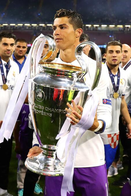 Mejor delantero: Cristiano Ronaldo (Real Madrid C.F.)