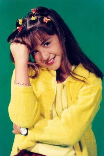 Daniela Luján tenía 8 años y una cara muy simpática cuando comenzó su ca...