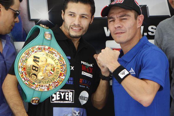 Jhonny González y Jorge 'Travieso' Arce prometieron dar una pelea inolvi...