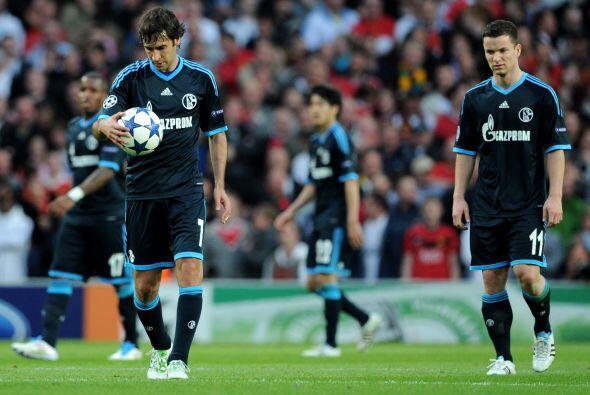 Schalke estaba desmoronado anímicamente.