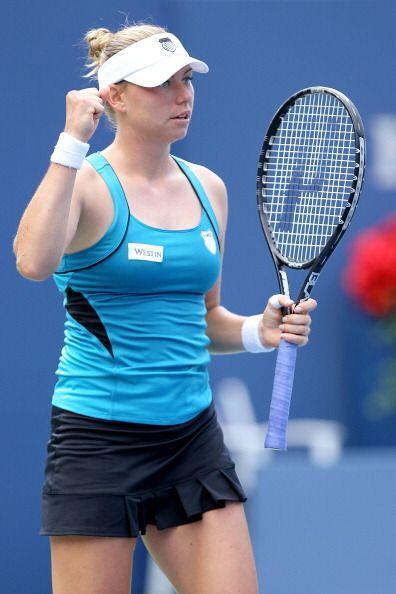Por su parte, la segunda sembrada de este Grand Slam, Vera Zvonareva, ga...