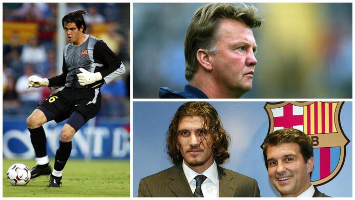 El menospreciado Valdés: Van Gaal lo debutó y Van Gaal lo retiró 3.jpg