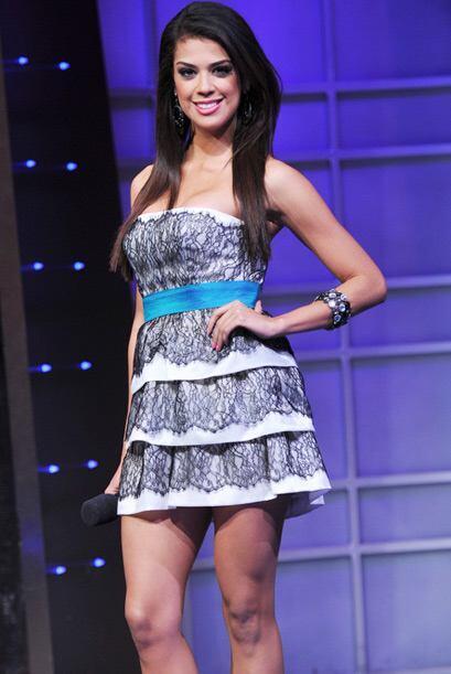 Además de su belleza, Carolina tiene talento para la actuación y la cond...