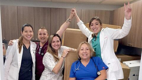 The group Doctoras Boricuas created a GoFundMe to be able to pay all the...