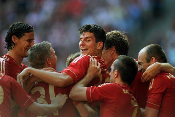 Y finalmente, el alemán Bayern Munich es otro cuadro que dará una nueva...