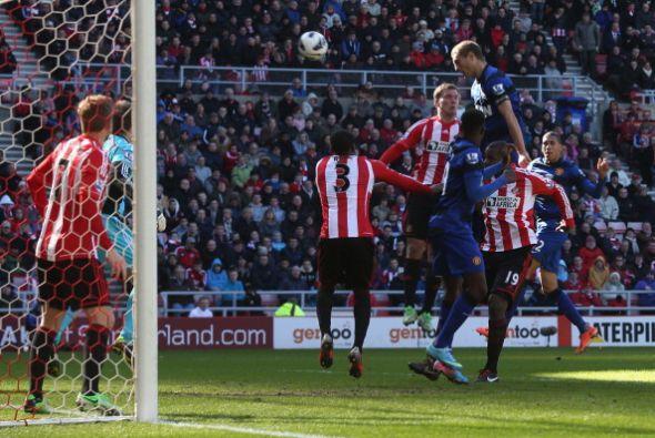 Tuvo más oportunidades del Manchester pero no llegó el gol.