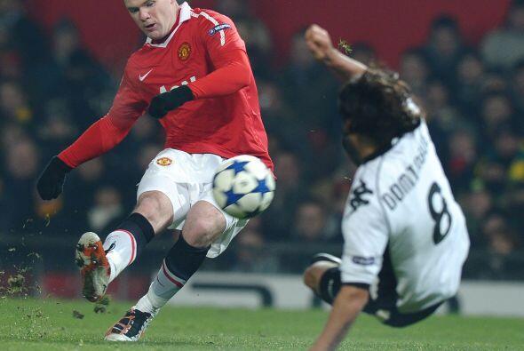 Ni figuras como Wayne Rooney podían marcar el tanto del empate. E...