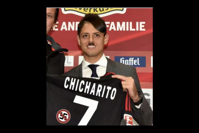 memes del doblete de Chicharito y más de la Champions League
