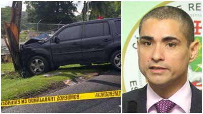 Accidente Carlos Vargas