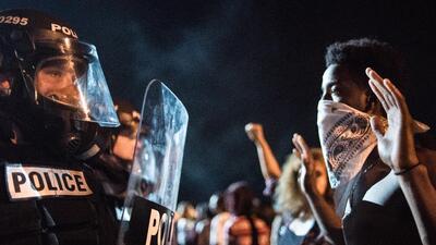 En fotos: Estallan protestas en Charlotte tras la muerte de un afroestadounidense por la policía