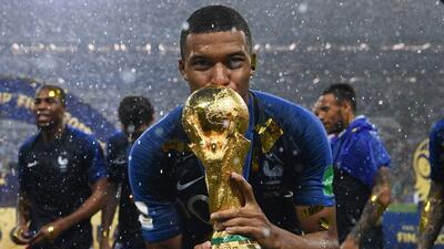 Mbappé habría jugado la semifinal del Mundial lesionado