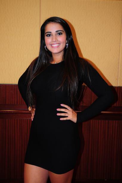 Keren Marroquín de Guatemala, audicionó en Los Ángeles. Ella es una de b...